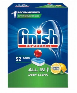 FINISH ALL IN 1 Lemon tabletki do zmywarki 52 sztuki