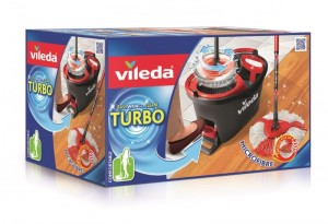 Vileda mop obrotowy Easy Wring and Clean TURBO z wiadrem