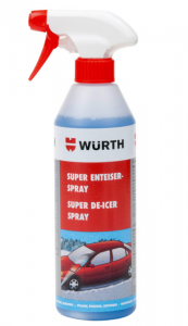 WURTH odmrażacz do szyb SUPER spray 500 ml