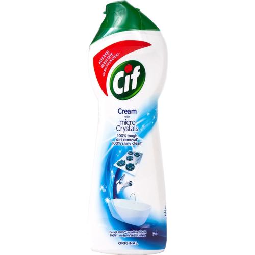 Cif Cream 750 Ml Mleczko Do Czyszczenia Z Mikrogranulkami